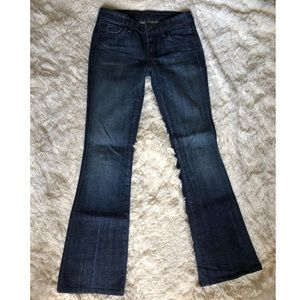 Like new 7 For all Mankind flare jeans